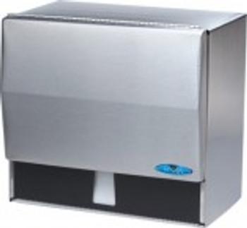 Frost - 103 - Stainless Steel Dispenser for Singlefold Towel