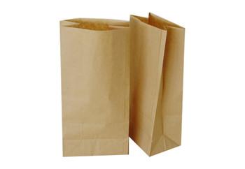 DD50 - 12inch X 7inch X 17inch - Heavy Duty Kraft Grocery Paper Bag - 500/Bundle