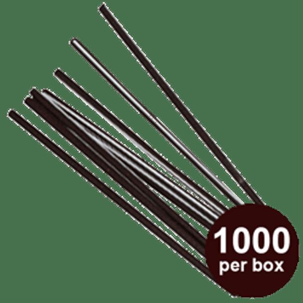 "Touch - 6"" Plastic Stir Sticks - 1000/box"