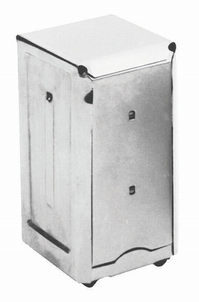 JR Dispenser for JDN (Junior Napkin Dispenser) Stainless Steel