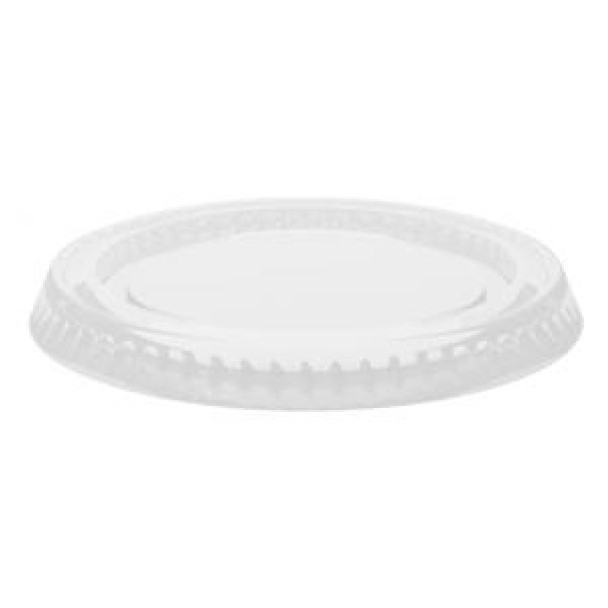Bio-Sposables - CF 763 - Pla Lids For 2-4 Oz Portion Cup - 2000/Case