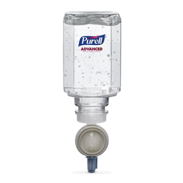 Purell - 1450-06 - ES™ Everywhere System Advanced Instant Hand Sanitizer Gel Refill, 450mL, Bottle, 6/Case