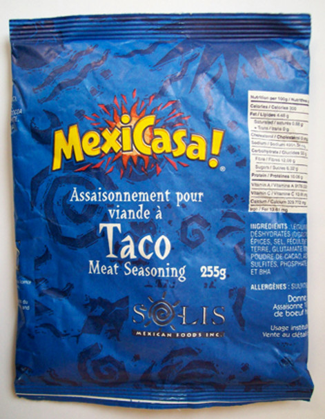 Solis Foods Mexicasa Taco Seasoning 9oz x 6