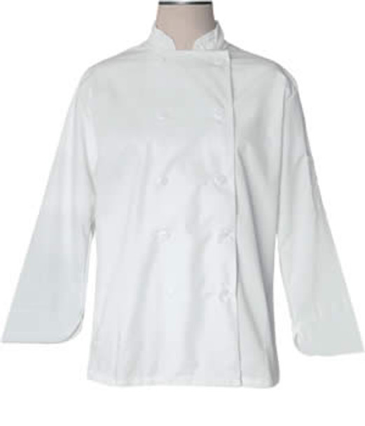 CI21809 Small - Bodyguard White Chef Jacket Small Size - Each