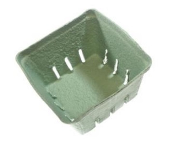 4020 Quart Berry Pack - Green - Made from Pulp Fibre
