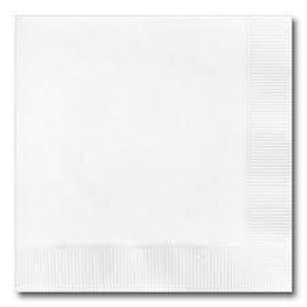 Cardinal 1ply Lunch Napkin, White, 12x500/Case