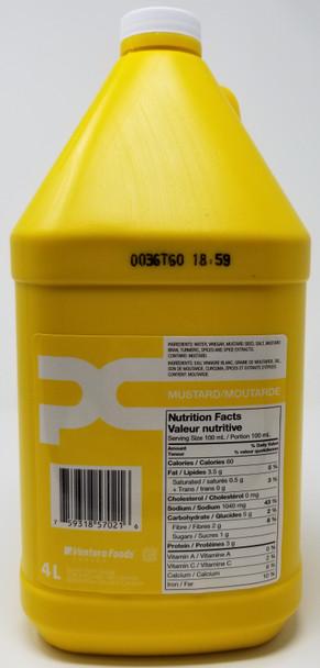 PC Small Mouth Mustard 4L