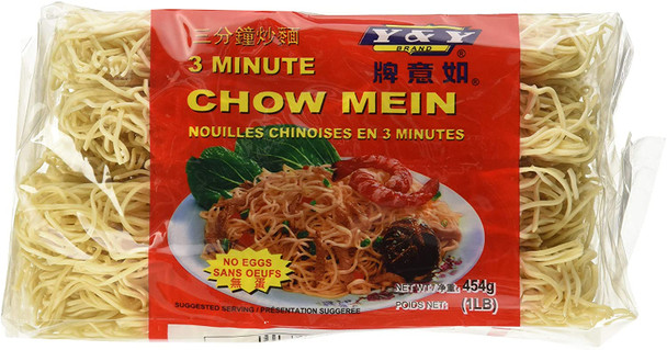 Y&Y 3 minute Chow Mein No Egg Noodles
