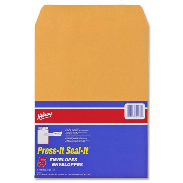 """Hilroy 76044 - Press-it Seal-it Envelopes 9""""x12"""""""