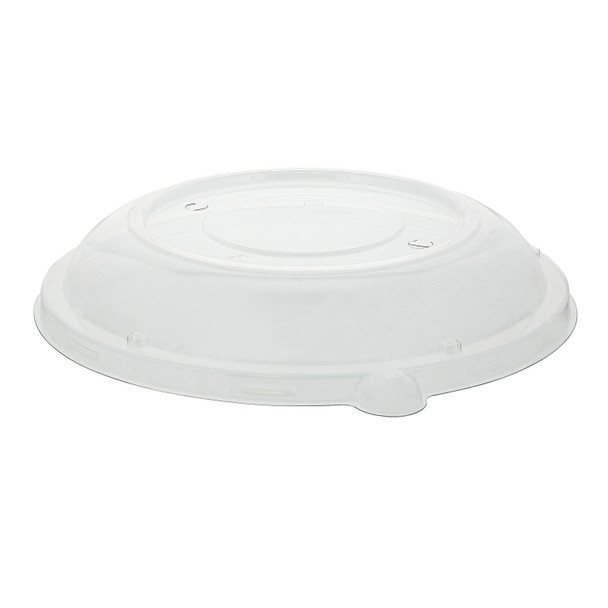 Earthseva NATLB002L- Clear Dome Lid for 24-32 oz. Round Pulp Bowls - 500/case