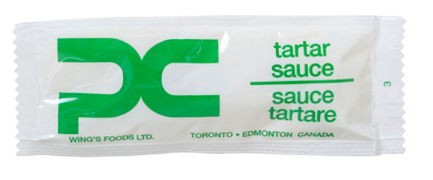 Wing's - Food Tartar Sauce Portion 12g x 500