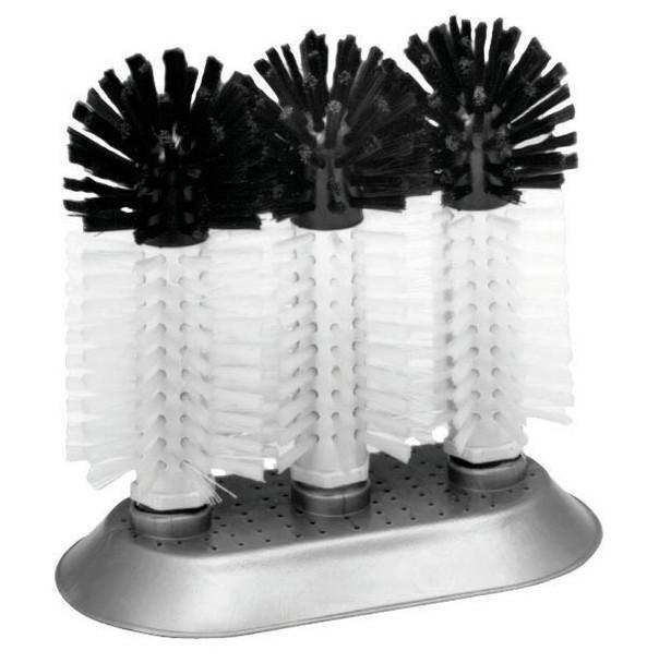 JR - 3283 - Glass Brush - Triple Nylon Bristles
