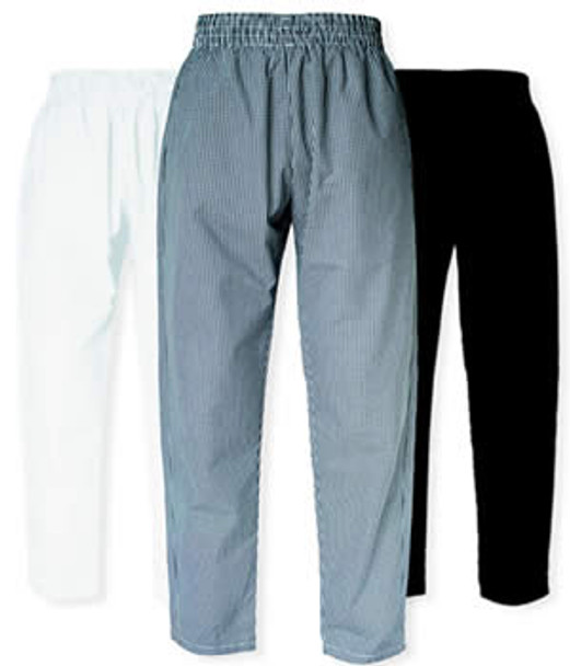 CI21901 Small - Bodyguard Chef Pants **Checkered** Small Size - Each