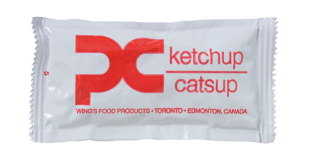 Wing's - Food Ketchup Portion 9g x 500/case