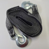 """2""""x20' Tow Strap Rope w/ Hooks Emergency Towing Strap 10,000 lb"""