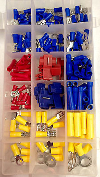 160pcs Wire Terminal Assortment