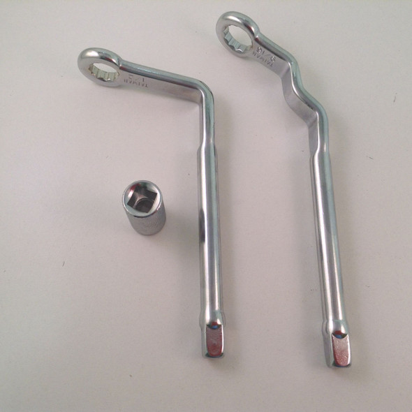 2pc Distributor Wrench Set