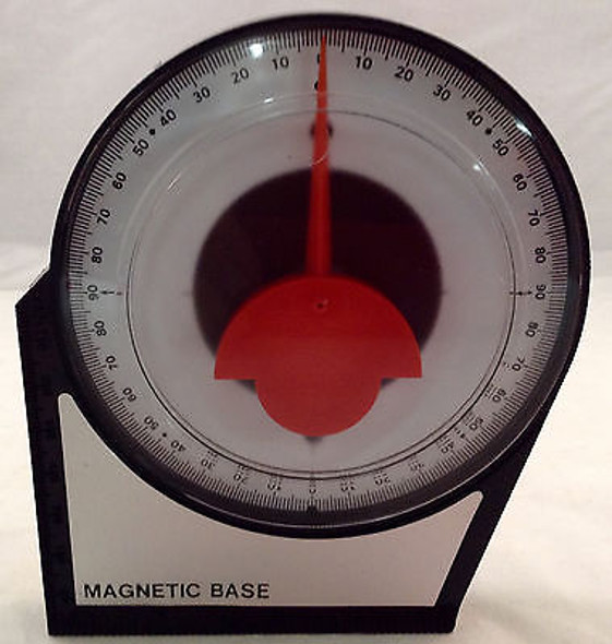 "4-1/8"" ANGLE FINDER LEVEL MAGNETIC BASE"