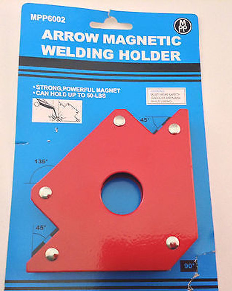 50 lb. Arrow Shape For Multiple Angles Magnetic Welding Holder