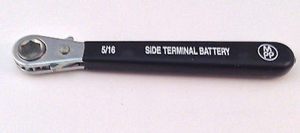 """5/16"""" Reversible Side Terminal Battery Ratchet Wrench 5"""" Insulated Handle"""