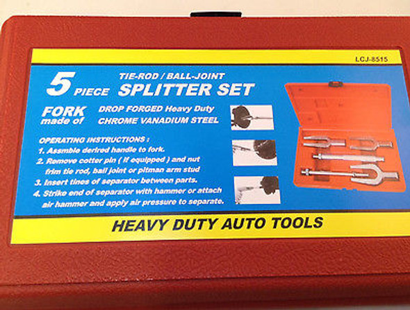 5pc Tie Rod Ball Joint Splitter Set