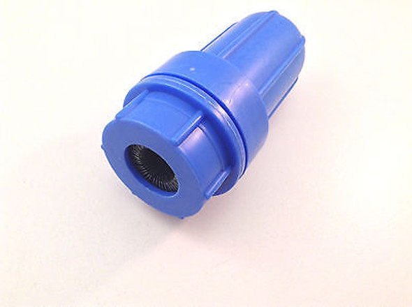 Battery Terminal Post Cleaner Brush - Blue Plastic