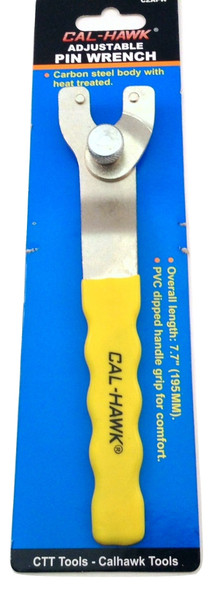 Cal-Hawk Adjustable Pin Wrench Spanner Wrench For Angle Grinders Image1