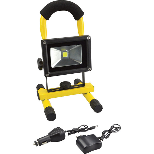 I-Zoom Versa Beam COB LED Floodlight - 600 Lumens 10 Watts Rechargeable Portable