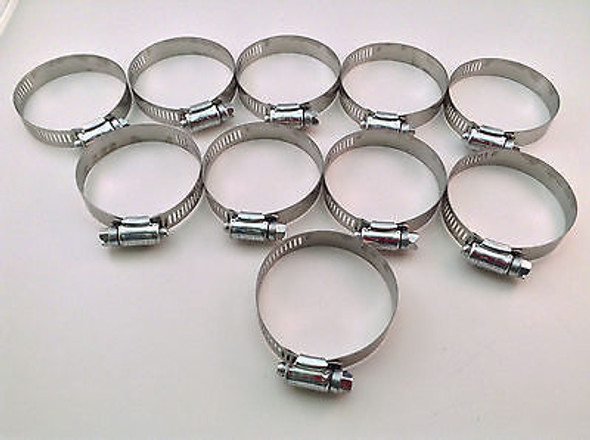 """IDEAL Box of 10 Tridon Hose Clamps Size #32 / 38 - 63mm 1-1/2 - 2-1/2"""""""