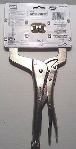 "IRWIN Locking 11"" C-Clamp Pliers - 11R"