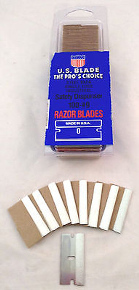 Industrial Grade Single Edge Razor Blades 100 Pack USA Made