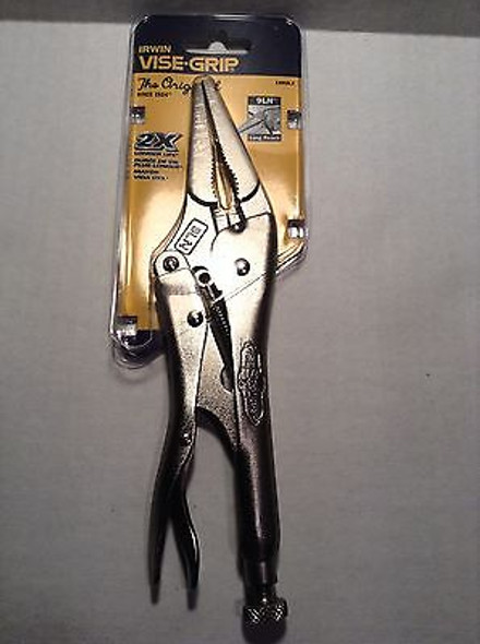 Irwin 9LN Vise-Grip Long Nose Pliers with Wire Cutter