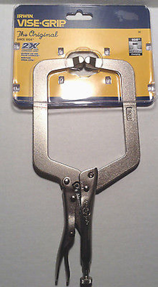"IRWIN Locking 9"" C-Clamp - 9DR Front"