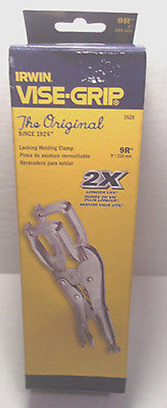 "Irwin Vise-Grip Locking Weldning Clamp 9"" 9R 25ZR"