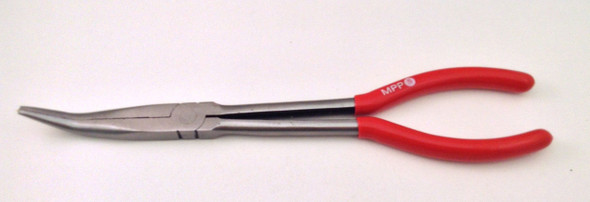 """NEW 11"""" EXTRA LONG 45 DEGREE TIP NEEDLE NOSE PLIERS"""