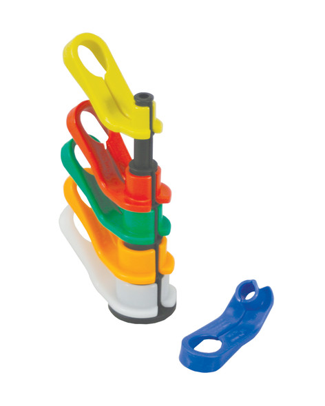 AK Garage Tools Lisle Angled disconnect set includes sizes 5/16, 3/8, 1/2, 5/8, 3/4 and 7/8 in. #39400