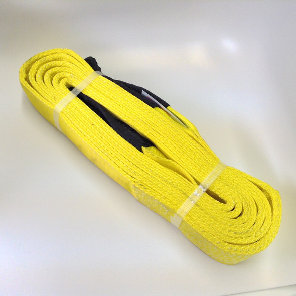 3 in. x 20 ft. Towing Recovery Strap 40,000 lbs Rated - Yellow or Black