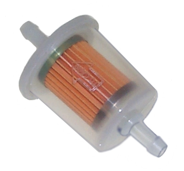 """5pc """"Mini"""" 1/4"""" Universal Fuel Filter Set Industrial High Performance Inline Gas Fuel Line"""