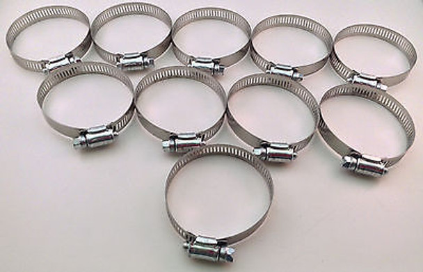 IDEAL Box of 10 Tridon Hose Clamps Size #16 / 18 - 38mm 11/16 - 1 1/2""