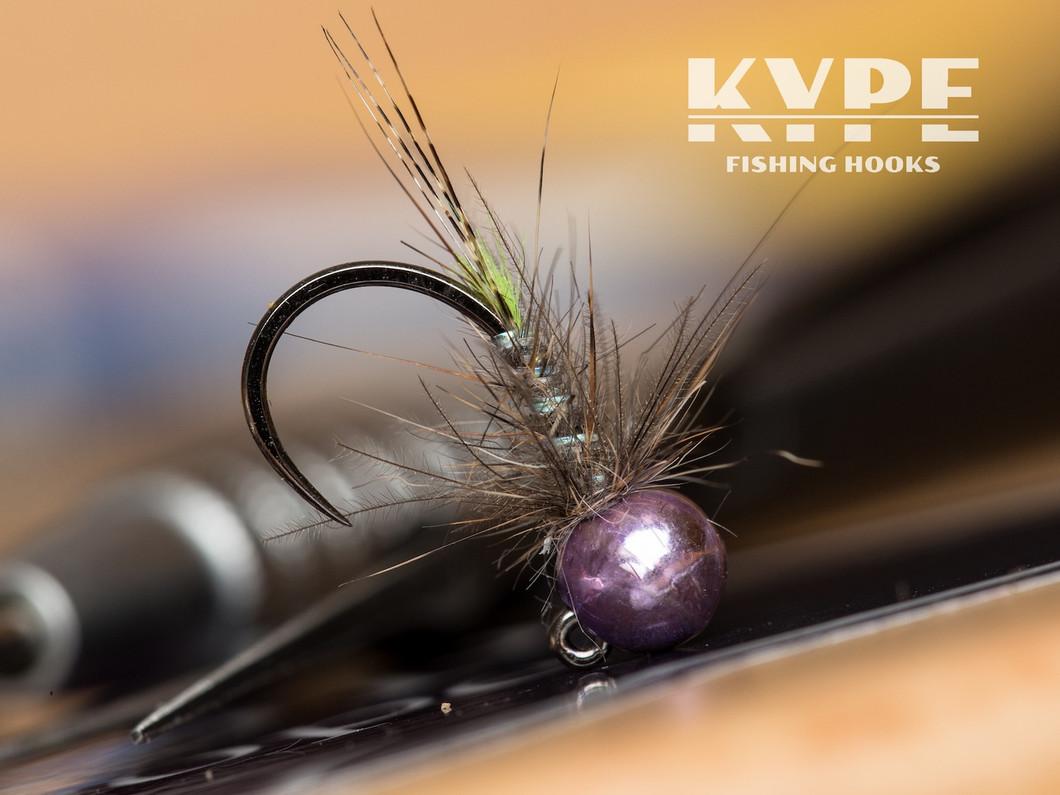Ultraviolet Jig Nymph, KYPE K310BL