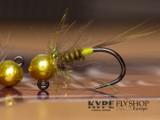 Golden Yellow Jig Nymph