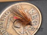 Rusty Brown Sedge Dry Fly - Video Tutorial