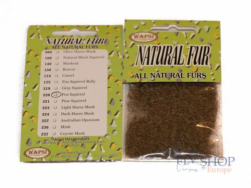 Wapsi All Natural Fur Dubbing - Fox Squirrel