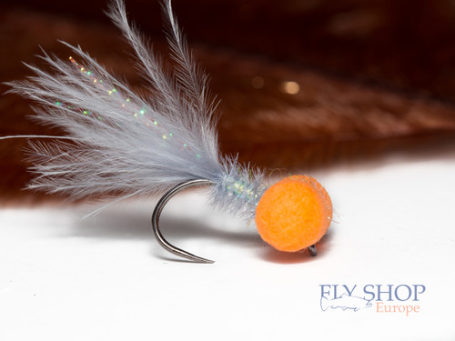 Grey & Orange Mirage Booby Fly