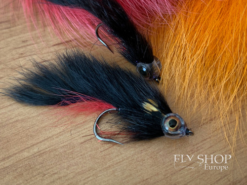 Black & Red Zonker Streamer