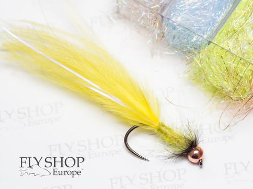 Yellow Marabou Leech