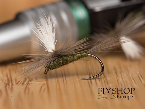 Brown Olive Parachute Dry