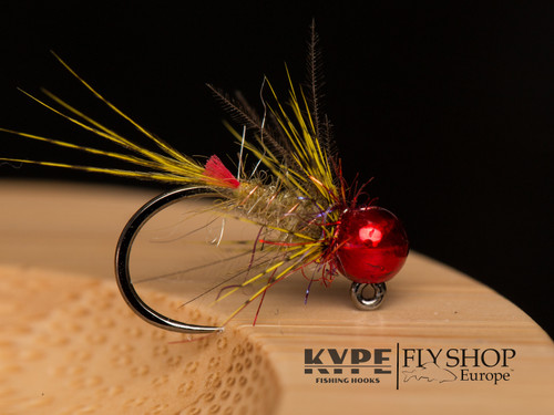 Red Head Light Olive Jig Nymph