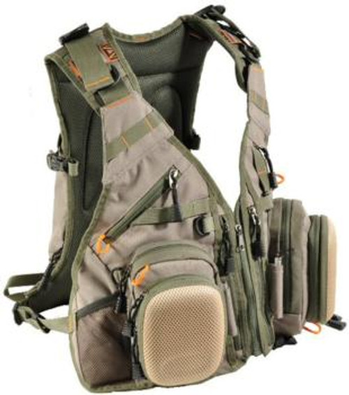 Airflo Outlander Fishing Vest and Back Pack