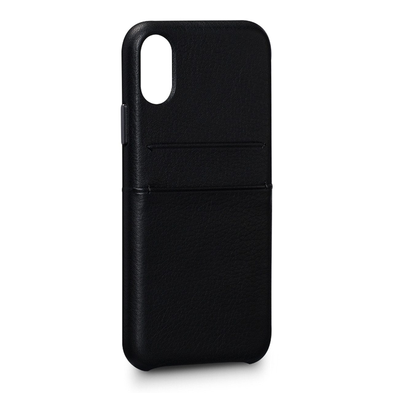 new products 8d3d4 cc40f SENA Bence Snap-on Wallet Case iPhone X/Xs - Black